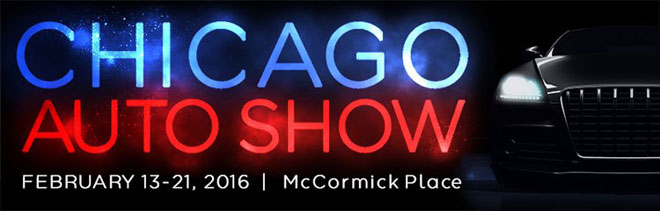 2016 Chicago Auto Show - Show Update #1