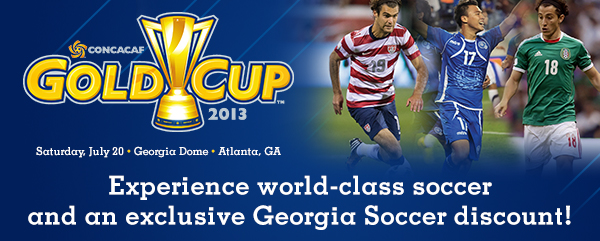 Introducing a special CONCACAF Gold Cup Quarterfinals program exclusively for Georgia Soccer members!