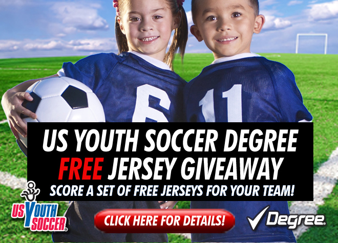 Degree Jersey Giveaway